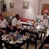 Vice President Daop 9 PT. KAI saat menemui Bupati Jember dr. Hj. Faida MMR