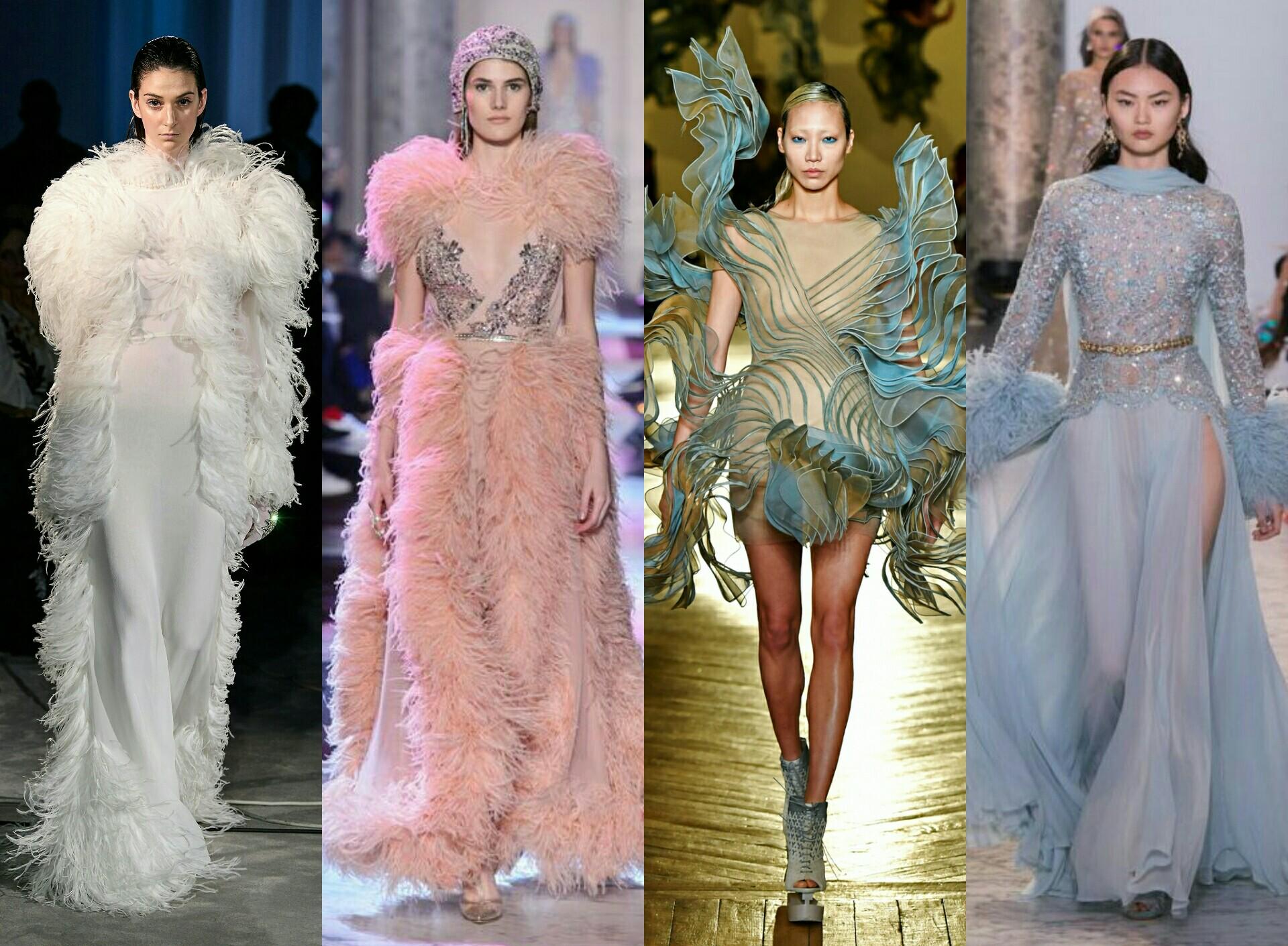 Gaun-gaun couture (foto istimewa)