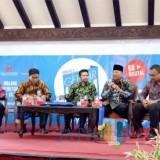 Kiprah Rendra Kresna Bupati Malang dalam menggalakan melek teknologi dalam suatu acara di tahun 2018 lalu (dok MalangTIMES)