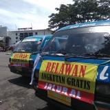 Ilustrasi angkutan kota (angkot) di Kota Malang saat sebagian mogok menolak angkutan berbasis aplikasi. (Foto: Nurlayla Ratri/MalangTIMES)