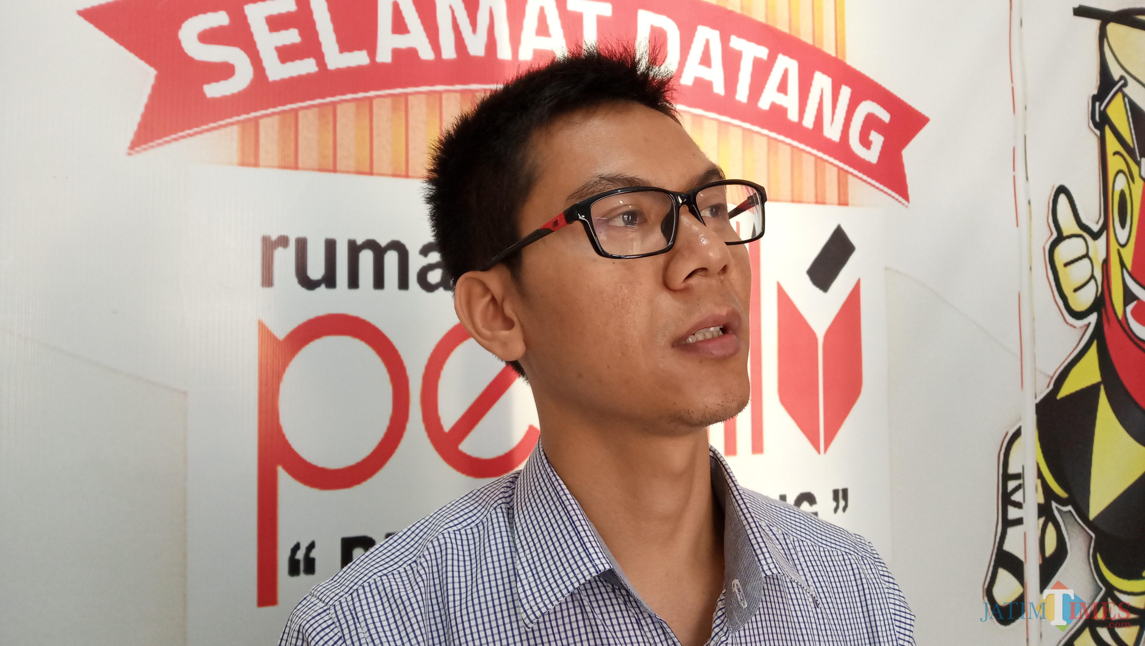 Komisioner KPU Tulungagung, Agus Safe
