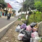Penumpukkan sampah rumah tangga di Desa Beji, Kecamatan Junrejo. (Foto: Irsya Richa/MalangTIMES)