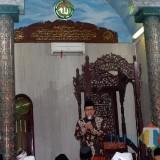 Wali Kota Malang, Sutiaji saat menyampaikan tausiyah dihadapan jamaah salat subuh Masjid Nurul Muttaqin, kelurahan Kebonsari Kecamatan Sukun (Humas Pemkot Malang for MalangTIMES).