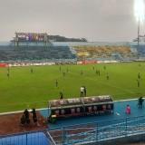 Kondisi Stadion Kanjuruhan ketika Arema FC menjamu Sriwijaya FC pada Liga 1 2018 (Hendra Saputra)