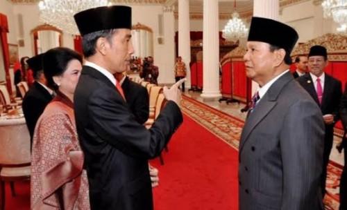 Presiden Jokowi dan Prabowo. (Ist)