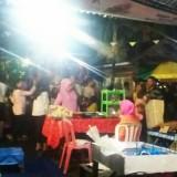 Suasana Festival Tahu dan Olahan yang digelar Pemdes Gitik Kecamatan Rogojampi