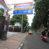Indomart yang disoal sejumlah kalangan di Jalan Suroyo Kota Probolinggo  (Agus Salam/Jatim TIMES)