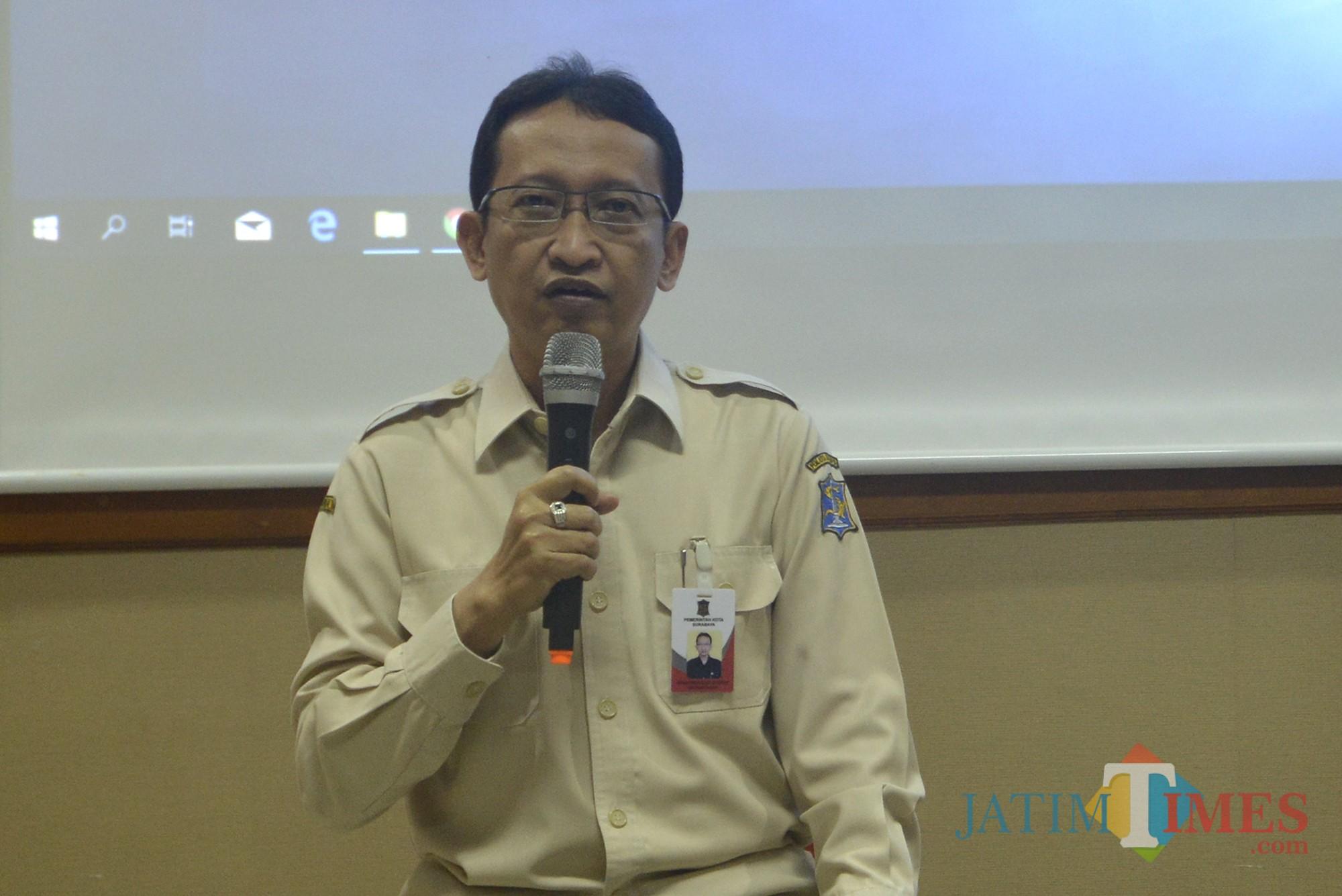 Kepala BPKPD Surabaya Yusron Sumartono