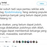 Peka Media Sosial, Ini Doa Wali Kota Malang untuk Jomblo