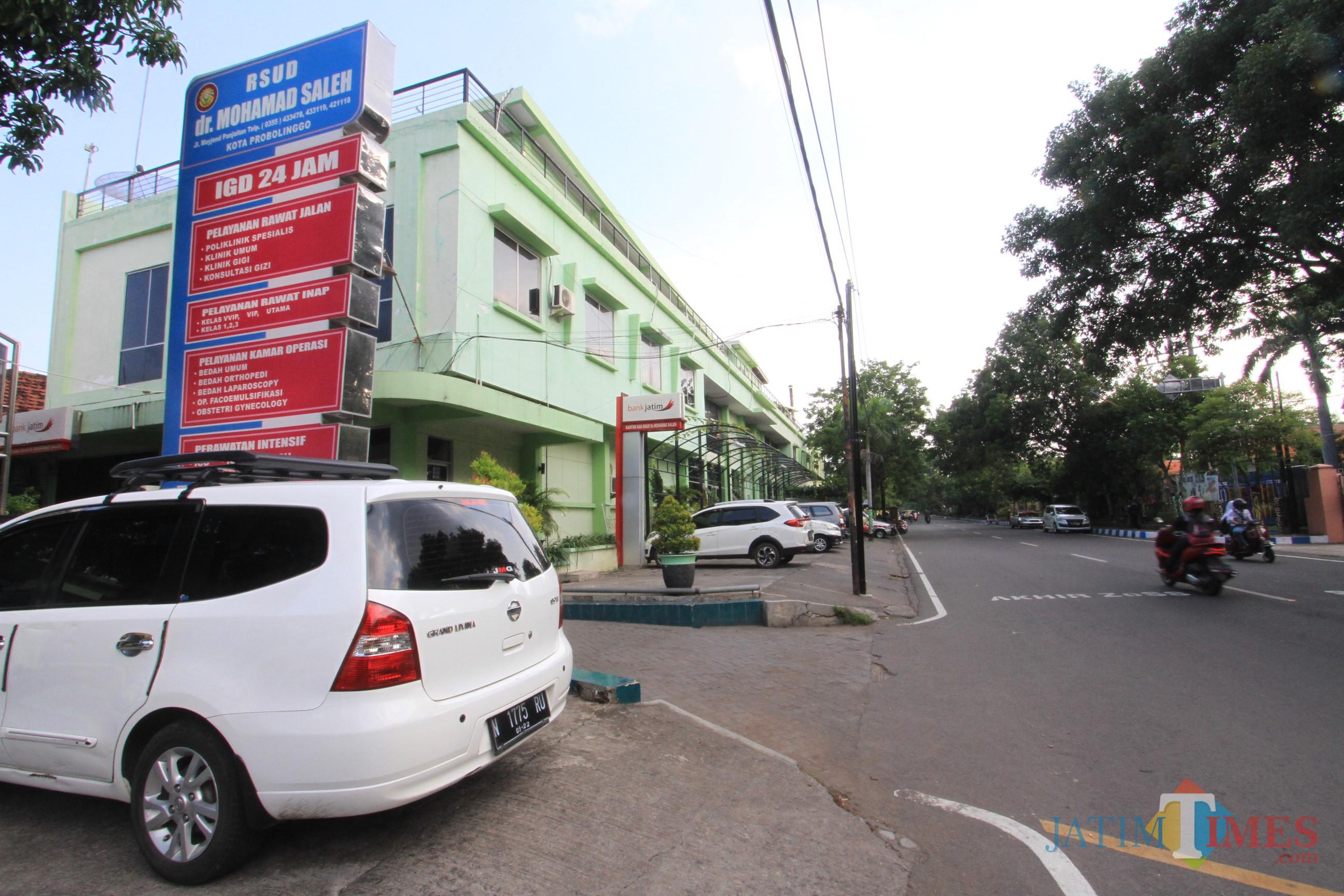 RSUD dr Muhammad Saleh di Jalan Mayjen Panjaitan Kota Probolinggo   (Agus Salam/Jatim TIMES)