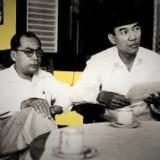 Hatta (kiri) dan Soekarno memiliki sisi-sisi manusiawi dalam pergulatannya sebagai pemimpin bangsa Indonesia (Ist)