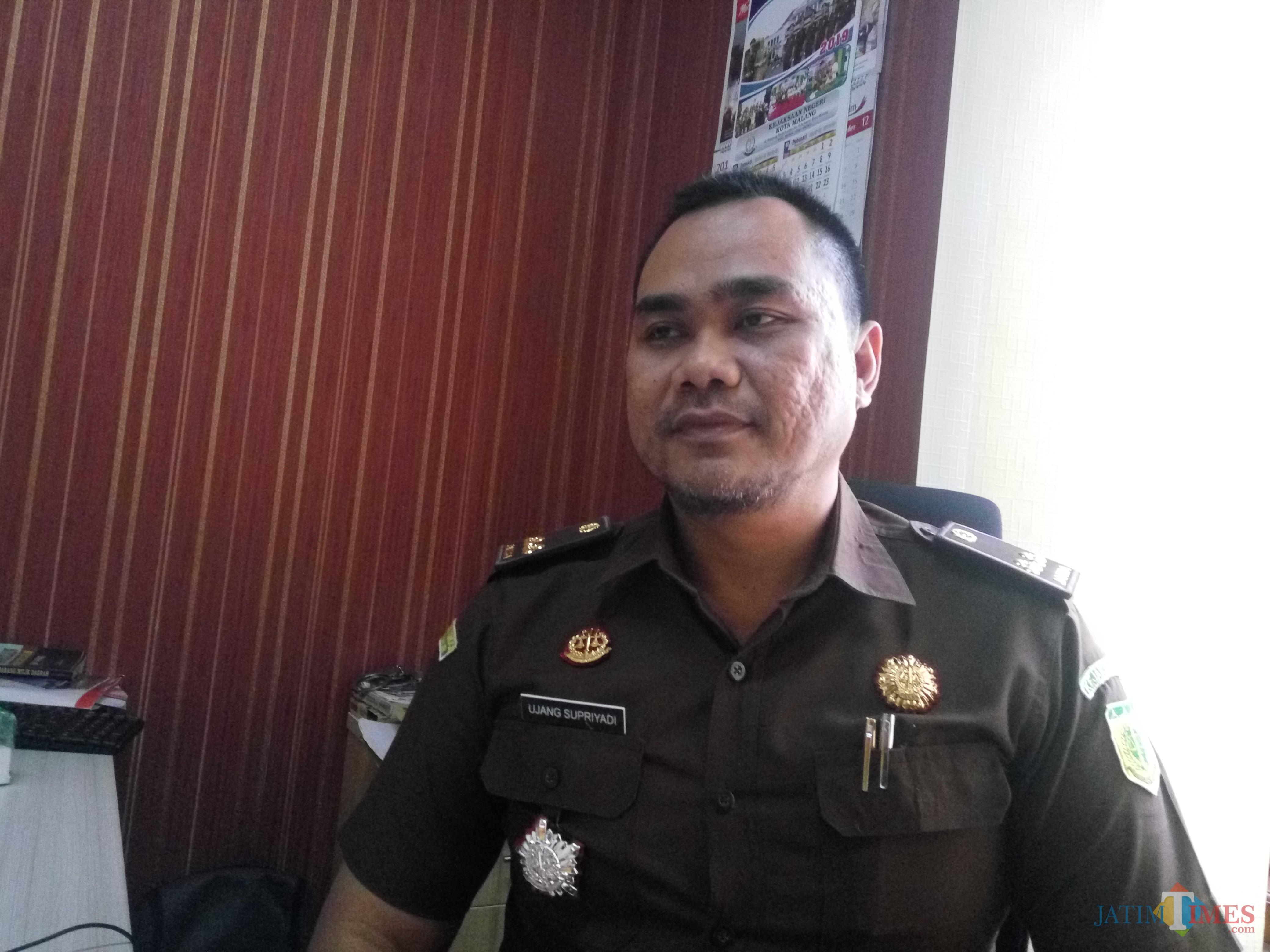 Kasi Pidsus Kejari Kota Malang Ujang Supriyadi (Anggara Sudiongko/MalangTIMES)