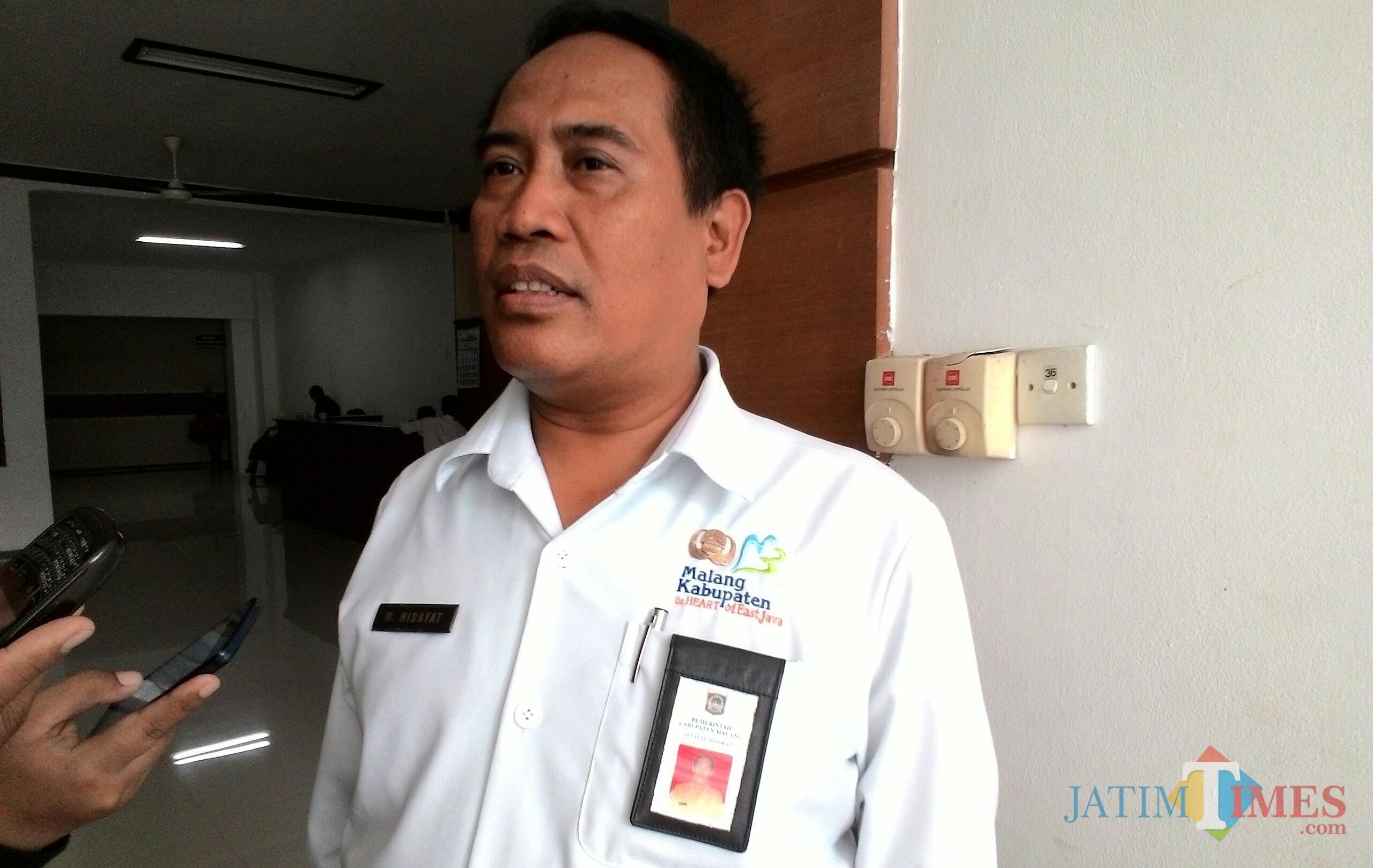 Kepala Dindik Kabupaten Malang M Hidayat menyampaikan pihaknya akan tingkatkan kualitas pendidikan dengan mengoptimalkan penggunaan teknologi digital (Nana)