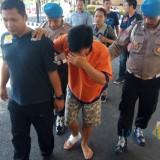 Pelaku begal  Ketua IPPNU Banyuwangi digiring petugas