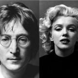 John Lennon dan Marilyn Monroe (Foto: istimewa)