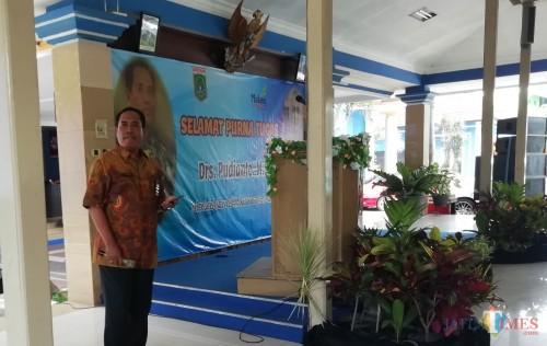 Kepala Dindik Kabupaten Malang M Hidayat menekankan agar jajarannya tidak meninggalkan regulasi (Nana)