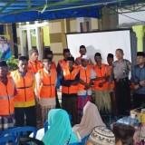 Pembentukan Satgas Keamanan Desa Purwosono di sela-sela sosialisasi Gaster. (Foto: Pawitra/JatimTIMES)