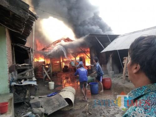 Foto ilustrasi kebakaran yang terjadi di Kabupaten Malang (Foto : Dokumen MalangTIMES)