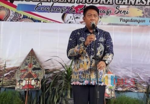 Made Arya Wedanthara, kepala Disparbud Kabupaten Malang. (Nana)