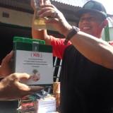 Kepala UPT TPU saat me-launching KIS di hadapan para pegawai UPT TPU. (Anggara Sudiongko/MalangTIMES)