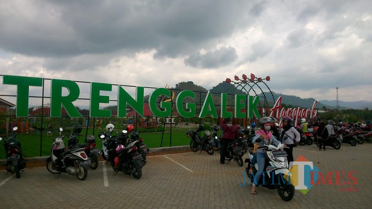 Halaman muka wisata Trenggalek Agro Park / Foto : Rudi Yunirianto / Trenggalek TIMES