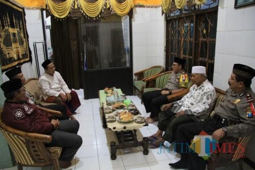 Silaturahmi Kamtibmas Kapolres Blitar Kota.(Foto : Team BlitarTIMES)