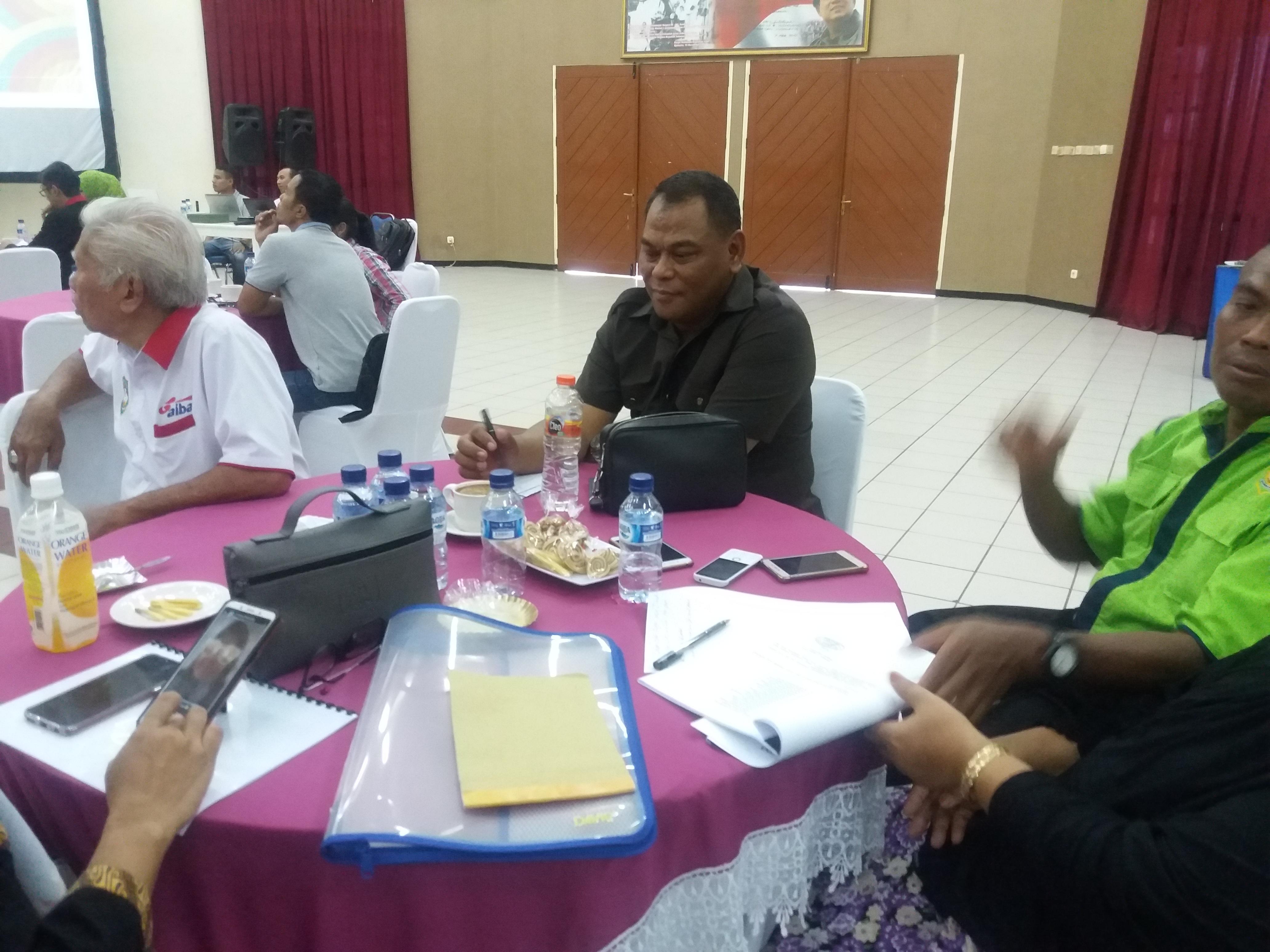 Ketua terpilih Pertina Jatim Rahmat Muhajirin