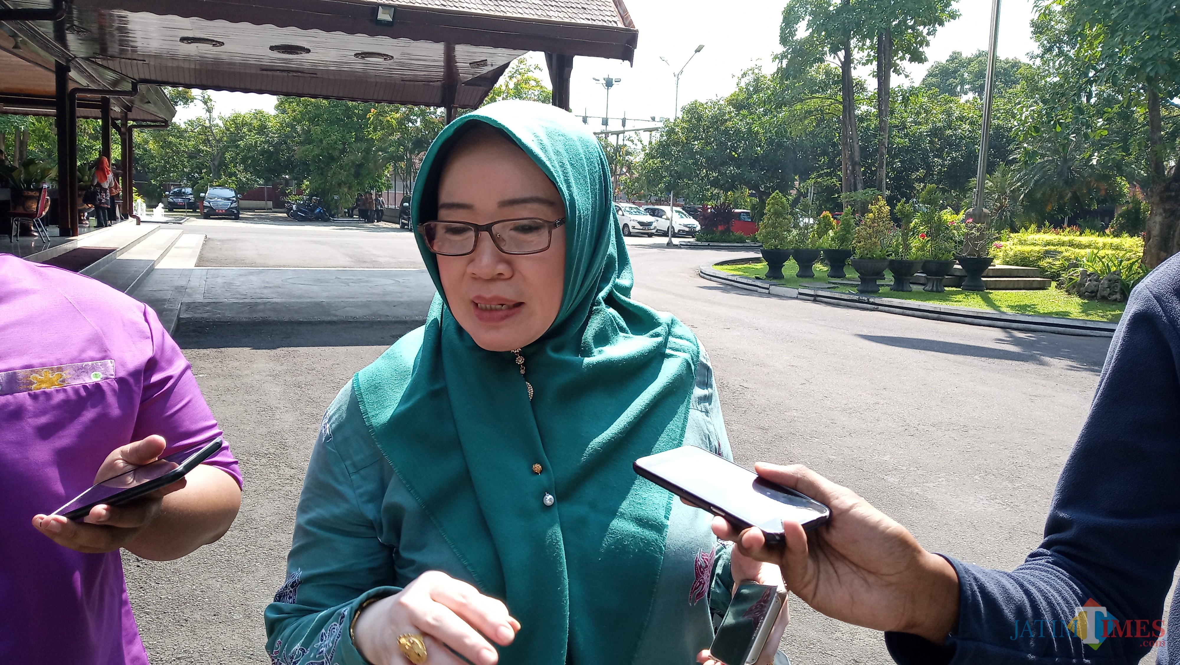 Kabag Organisasi Setdakab Tulungagung, Imroatul (foto : Joko Pramono/Jatim Times)