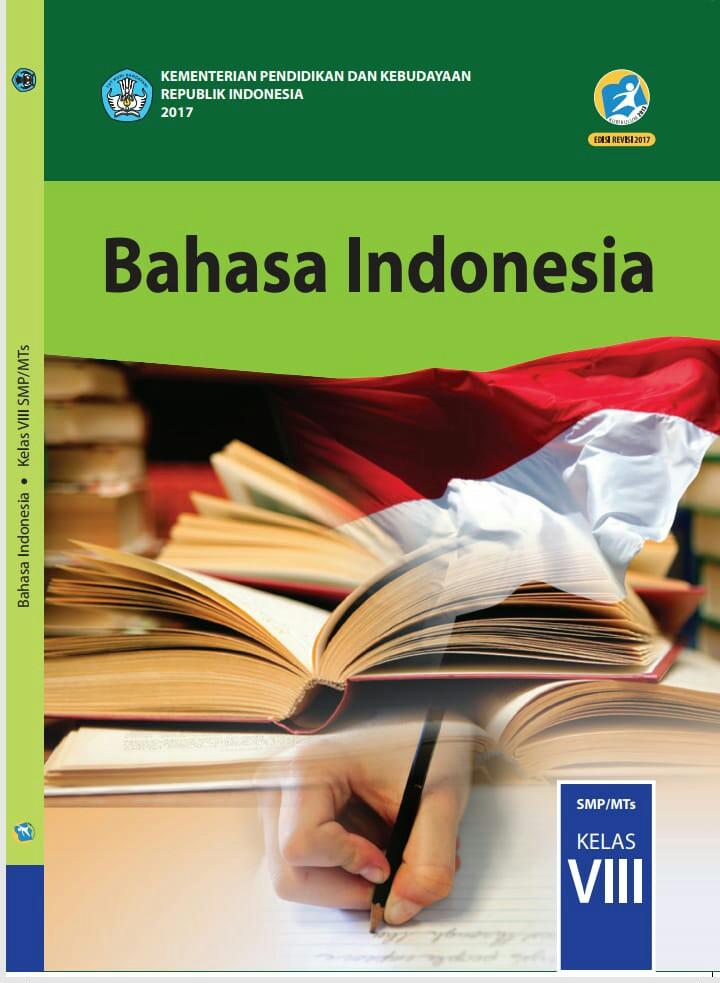 Buku paket bahasa Indonesia kelas 8 (Foto istimewa)