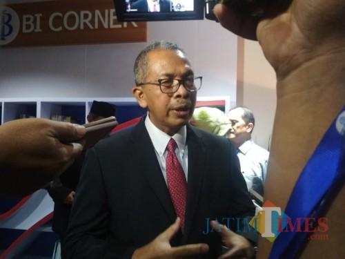 Deputi Gurbernur BI Dr. Sugeng (Foto: Imarotul Izzah/Malang Times)