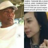 Foto Bella sebagaimana di unggah di akun Facebooke Raja Sengon dan foto Raja Sengon