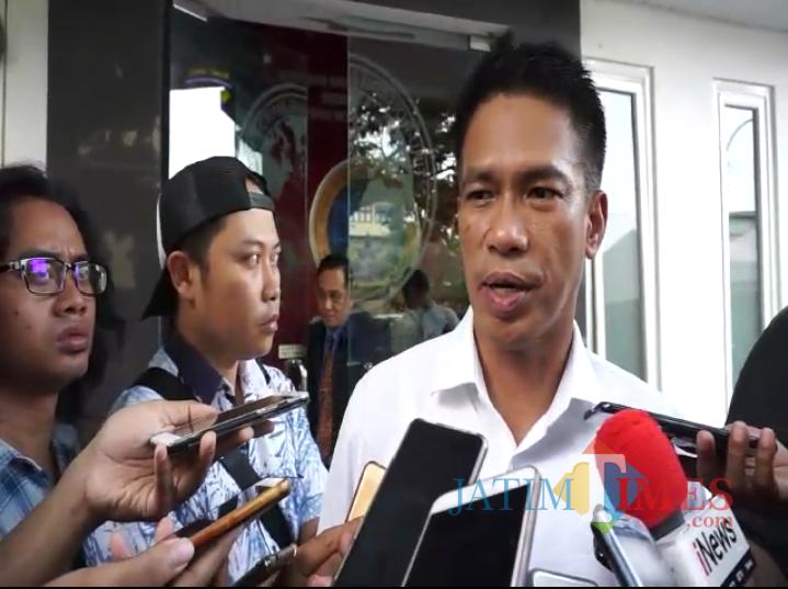 Direktur Direktorat Reserse Kriminal Khusus Polda Jatim Kombespol A. Yusep Gunawan