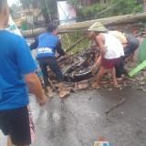 Tragis, Saat Temu Manten, Resepsi Penikahan Dihantam Puting Beliung, Empat Kecamatan Masuk Zona Rawan