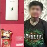 Pelaku dan barang bukti yang diamankan Polres Malang Kota (Satreskoba)