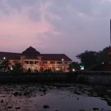 Bangunan Balai Kota Malang yang dibangun pada 1927 itu kini ditetapkan sebagai cagar budaya. (Foto: Nurlayla Ratri/MalangTIMES)