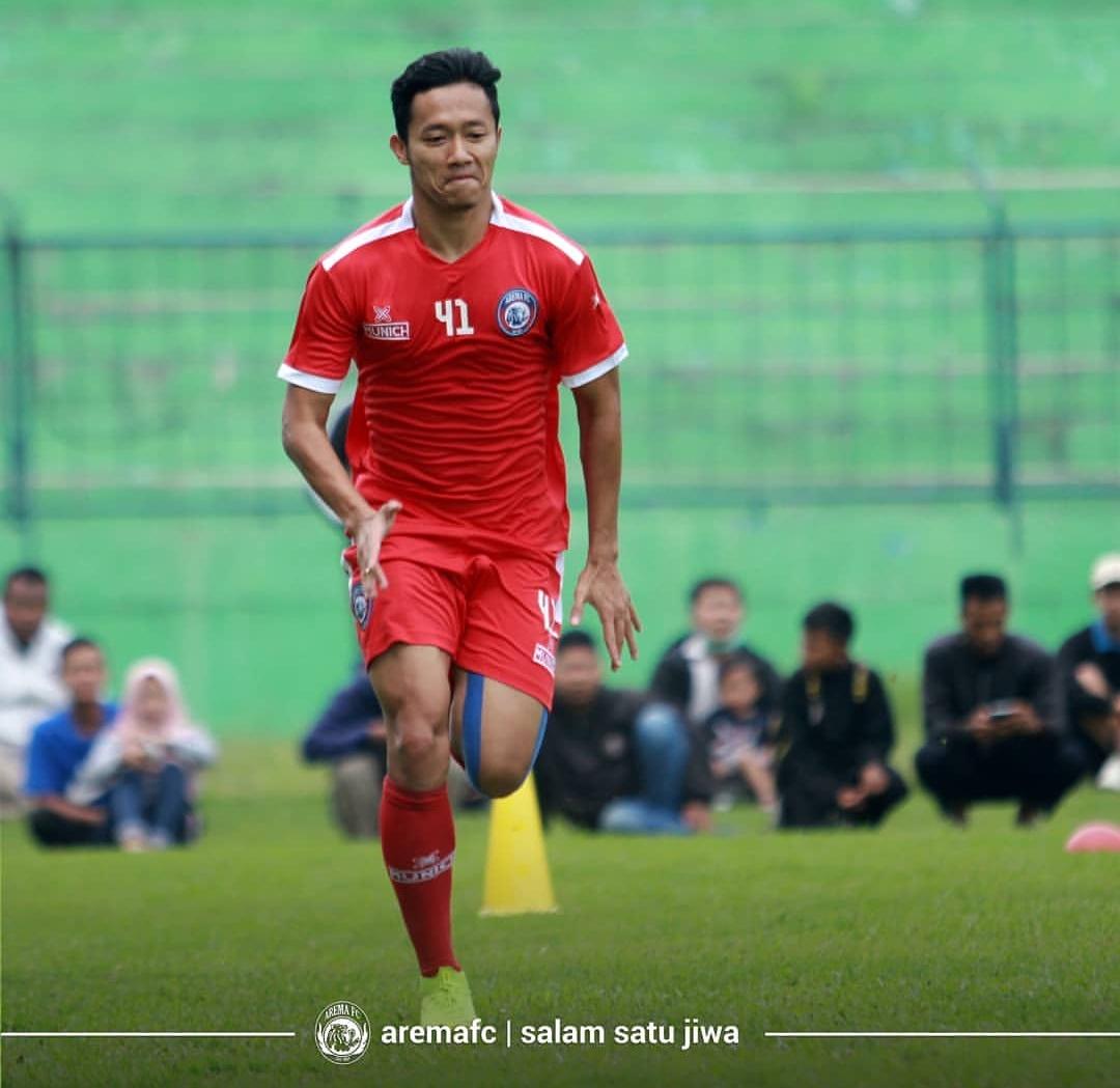Gelandang Arema FC, Dendi Santoso (official Arema FC)