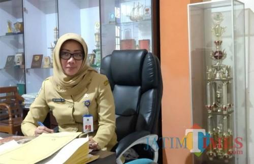 Kepala Disperindag Kabupaten Malang Pantjaningsih Sri menegaskan pihaknya terus melakukan tugasnya di tengah keterbatasan anggaran (dok MalangTIMES)