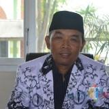 Munib Ketua PGRI Trenggalek (Foto: Rudi Yunirianto/ TrenggalekTIMES)