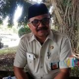 Kepala Bapenda Kabupaten Malang Purnadi saat menyampaikan hilangnya pendapatan dari pajak ABT senilai Rp 1,5 miliar. (Nana)