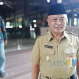 Wabup Malang HM. Sanusi menyatakan akan memindah dan mengubah area perkantoran Pemkab Malang di Jl Agus Salim Kota Malang. (Nana)