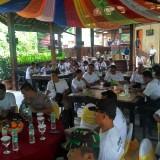 Acara gathering di Pagerwojo berjalan gayeng./ Foto : Anang Basso / Tulungagung TIMES