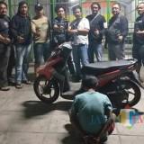 Tim gabungan Reskrim berhasil Tangkap Pelaku berinisial MR, Maling Motor / Foto : Dokpol / Tulungagung TIMES