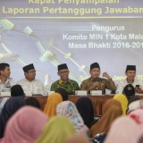 Wali Kota Malang Sutiaji (tiga dari kanan) (Humas Pemkot Malang for MalangTIMES).