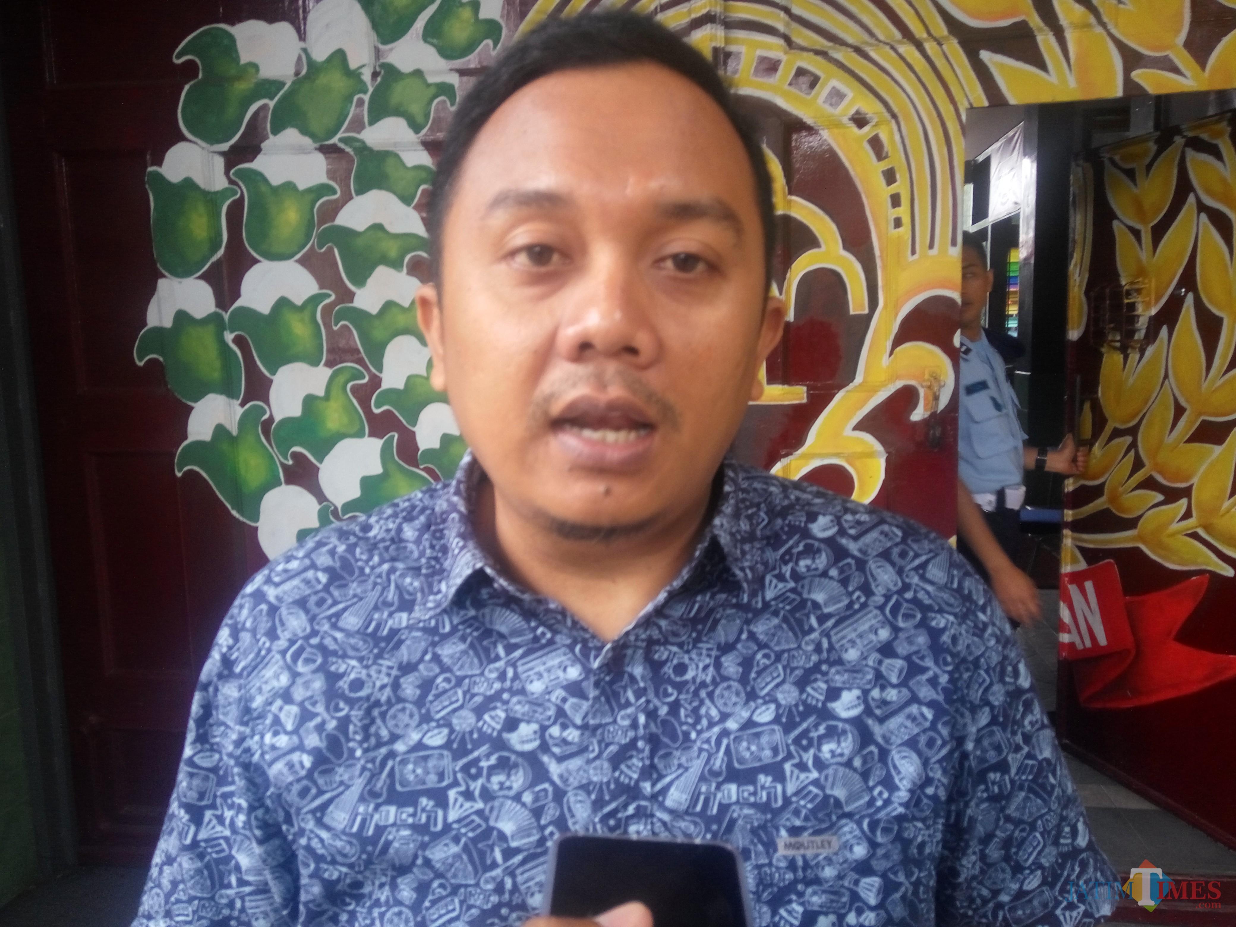 Deni Bachtiar, Komisioner KPU Kota Malang, Divisi Perencanaan dan Data (Anggara Sudiongko/MalangTIMES)