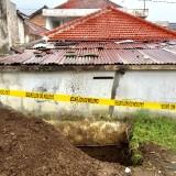 Kondisi rumah�Kasdi warga�Jalan M. Sahar RT 03 RW 03 Kelurahan Sisir, Kecamatan Batu, Kota Batu,�Kamis (17/1/2019). (Foto: Irsya Richa/MalangTIMES)