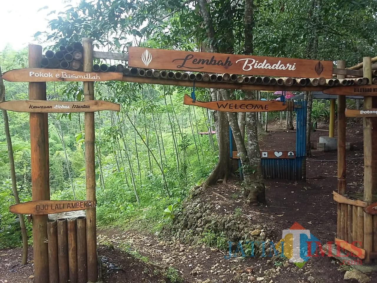 Lembah Bidadari, Pagak, wisata yang diminta Wabup Malang menjadi wisata bertaraf nasional (Humas for MalangTIMES)