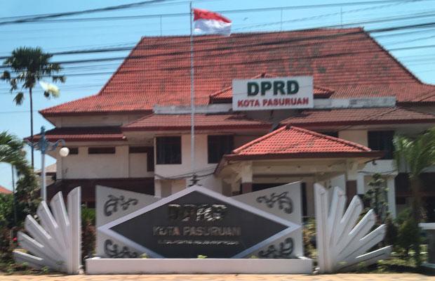 Kantor DPRD Kota Pasuruan.