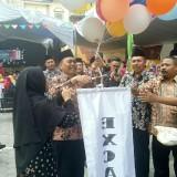 Kakan Kemenag Banyuwangi Drs Slamet MHi didampingi Kasek Mansawangi Drs H Saerodji MPd.