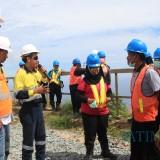 Tour Pabdesi di area tambang Tumpang Pitu disambut hangat management PT BSI