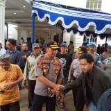 Kapolres Malang Kota Usai berdiskusi dengan panitia acara (Anggara Sudiongko/MalangTIMES)